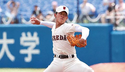 雪山幹太(早稲田実業エース)の球速や中学時代の在籍チームをご紹介!