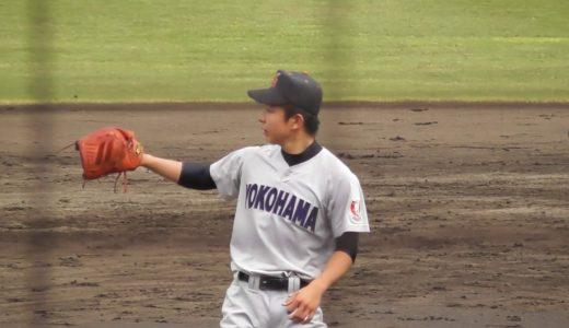板川佳矢投手(横浜)の中学はどこ?元サッカー少年でドラフト評価も凄い!