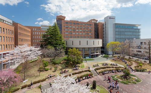 桜美林大学の写真