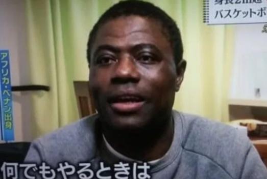 八村塁選手の父親の画像