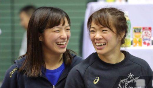 川井梨紗子にはかわいい妹がいる!妹、父、母とレスリング一家だった!