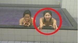 大友愛の風呂場写真