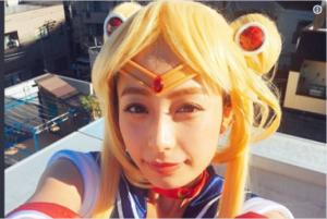 宇垣美里のコスプレ写真