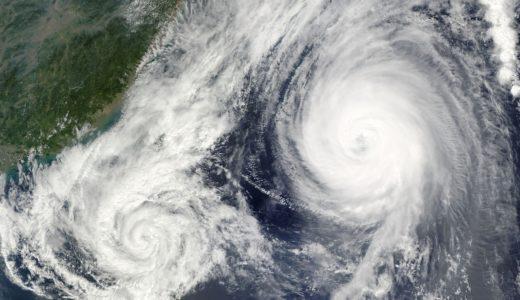 近年(今年)の台風が多い理由は何?多すぎる原因やメカニズムをチェック
