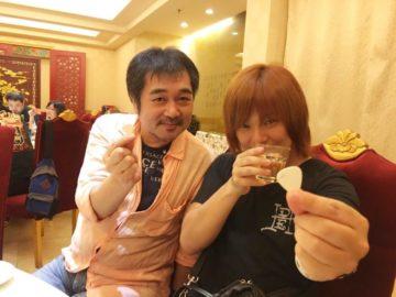 ローランドの父である松尾洋一の写真