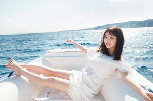 与田祐希の全身写真
