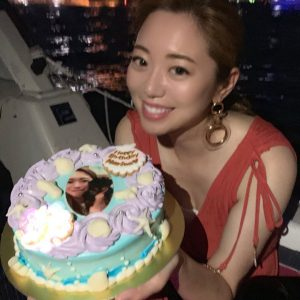 和智茉璃奈の誕生日の写真