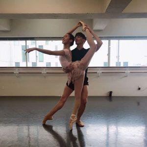 バレエスタジオリビーナ内の写真