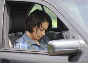 菅田将暉の横顔の写真
