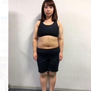 餅田コシヒカリのダイエット後の写真