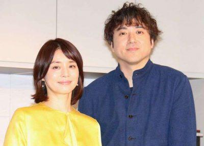 ムロツヨシと石田ゆり子の写真