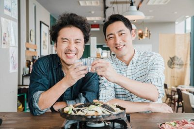 ムロツヨシと小泉孝太郎の写真