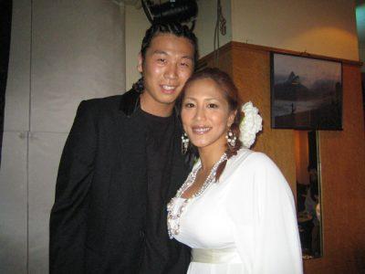 山本美優と佐々木明の写真
