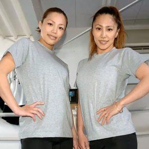 山本聖子と山本美優の写真