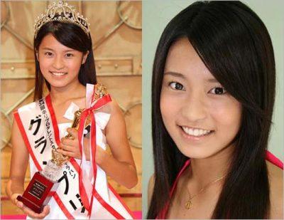 小島瑠璃子のデビュー当時の写真