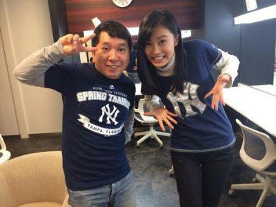 田中裕二と小島瑠璃子の2ショット写真