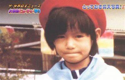 馬場典子の幼少期の写真