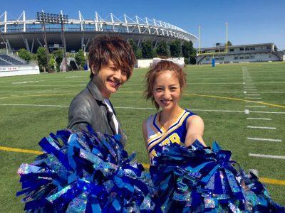 西島隆弘と堀田茜の写真