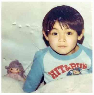 つるの剛士の子供の頃の写真