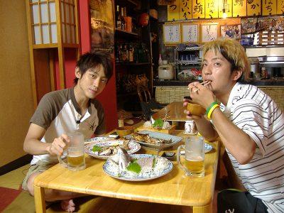 小泉幸太郎と上地雄輔の写真