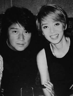 近藤真彦とアニタ・ムイの画像